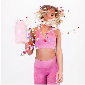Light Pink HydroJug & Camo Sleeve